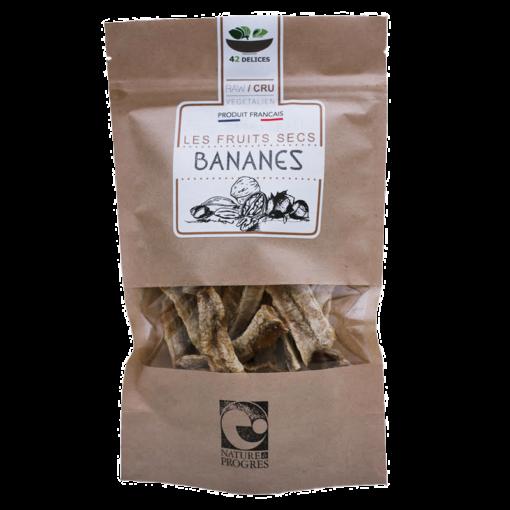 Fruits secs - Bananes séchées - 42 délices