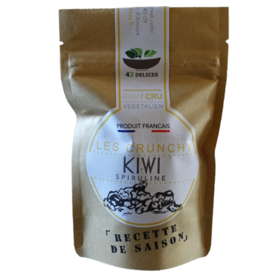 Cruncky kiwi spiruline version pocket
