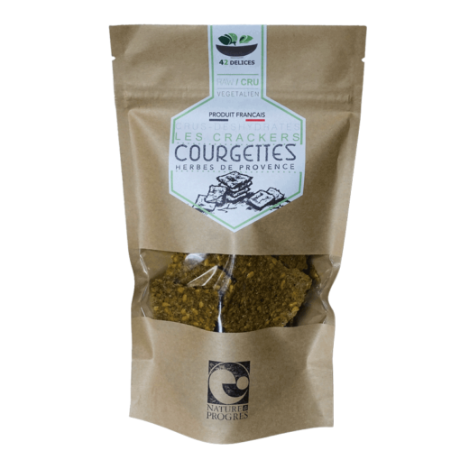 crackers courgettes