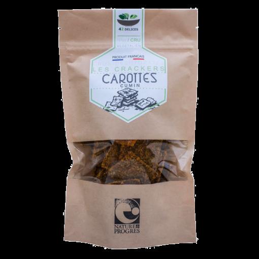 Crackers carotte cumin 4é délices