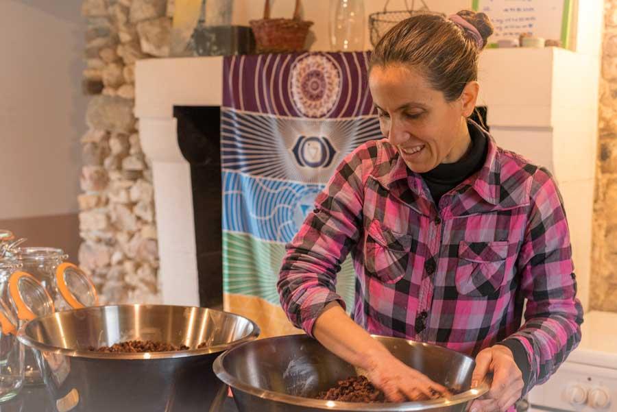 Céline Croissant cours de cuisine vegan 42 délices