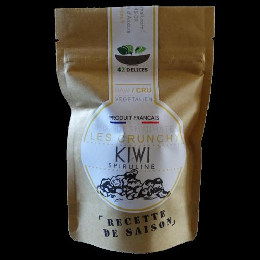 Cruncky kiwi spiruline version pocket
